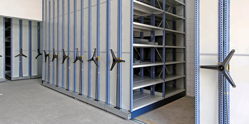 High density filing systems